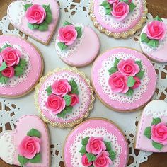 Lovely pink roses♡