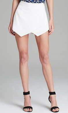 Steal Kate Beckinsale's look with this Aqua Skort Wrap Front ($68).