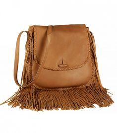 Ralph Lauren Large Fringe Shoulder Bag ($450)