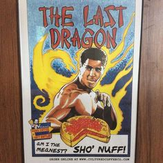 "Sho' nuff! The Last Dragon brings the (and if you're really brave get it with ""The Glow"" ) #shonuff #thelastdragon #hot #spicy #waffle #coffee #waffles #culturedcoffeeandwaffles #radcanton"