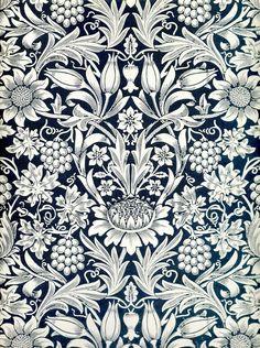 William Morris Sunflower wallpaper