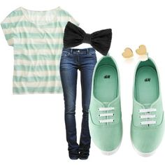 Awww love the whole outfit but those shoes are so cute