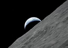 Earthrise, taken by the crew of Apollo 17, the last manned mission to the Moon. December, 1972 [1247x884] - Imgur