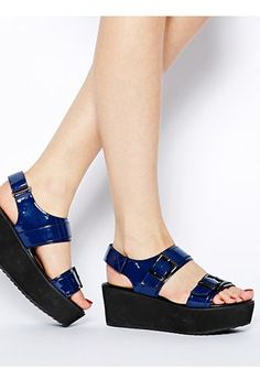 15 Flatforms To Instantly Elevate Your Shoe Closet #refinery29  http://www.refinery29.com/platform-shoes#slide-2  ASOS Jil Flatform Shoes, $65.87, available at ASOS.