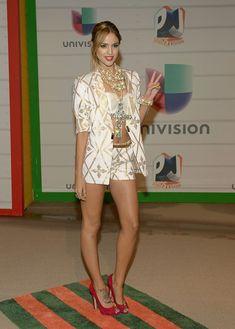 Eiza Gonzalez Actress Eiza Gonzalez attends the Premios Juventud 2013 at Bank United Center on July 18, 2013 in Miami, Florida.