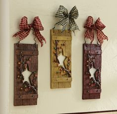 Country Star Wall Decor