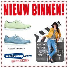 #Wolkyshop #NIEUW! Maak kennis met de nieuwe veterschoen uit de nieuwe Pebbles serie: de 8475 Coal. Deze trendy schoen heeft alles wat je van Wolky gewend bent: uitneembaar voetbed, chroomvrije binnenvoering en optimaal comfort. De 8475 Coal heeft ook nog een iets bredere leest en is beschikbaar in verschillende kleuren!  . #Enschede #haverstraatpassage