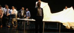 Scene. Opera. TV. Verdi: Rigoletto. Opernhaus Zürich 2014. Iscenesat af Tatjana Gürbaca. På scenen står blandt andre Saimir Pirgu, Andrzej Dobber og Aleksandra Kurzak. 040816