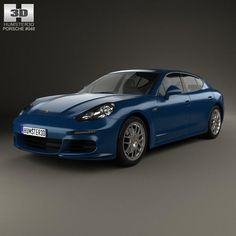 model: The model was created on real car base. Panamera 4s, Porsche Panamera, Porsche Models, Mazda 3, Cinema 4d, 3d Design, Volkswagen, 3 D, Vehicles