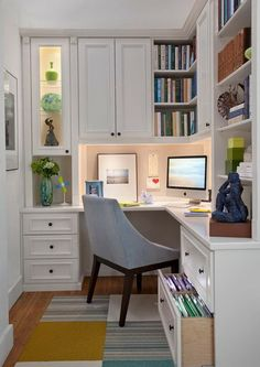 Delicieux 20 Home Office Designs For Small Spaces Home Office Design, Home Office  Space, Home