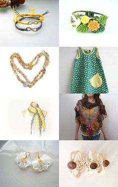 --Pinned with TreasuryPin.com Summer Accessories, Workshop, Etsy, Collection, Atelier