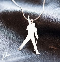 Freddie Mercury Silver pendant, hand made Pendant, Queen jewelry, Freddie Mercury jewelry by itailu on Etsy Queen Love, Save The Queen, Freddie Mercuri, Fandom Jewelry, Queen Outfit, Queen Freddie Mercury, Queen Band, Band Merch, Music Is Life