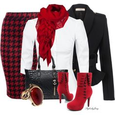Red Ring - Polyvore
