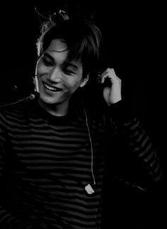 Kai and his sunrise of a smile Kaisoo, Chanyeol, Exo Kai, Kyungsoo, Smile Tumblr, Exo Album, Kim Minseok, Xiuchen, Billy Elliot
