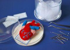 Hine Mizushima's Anatomical Heart Brooch