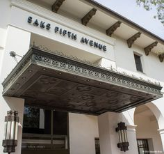 Ironwood Designs: Made the Saks Fifth Avenue Marquee- good enough for the home in Montecito.