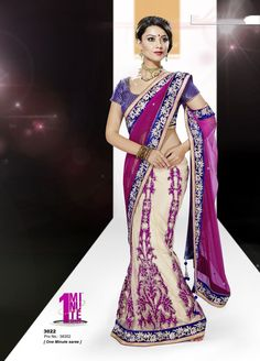 Premium collection of Designer #partywear embroidered #saree shop online at #craftshopsindia
