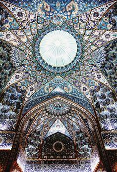 "aliirq: "" The Islamic art and architecture. Imam Hussein shrine in Karbala, Iraq.2015 """