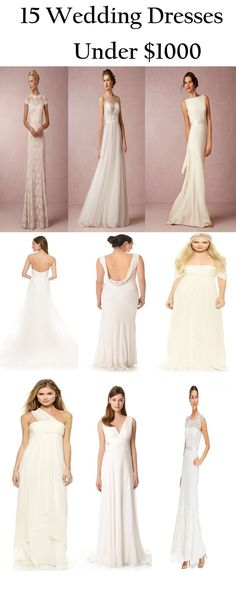 15 wedding dresses under $1000