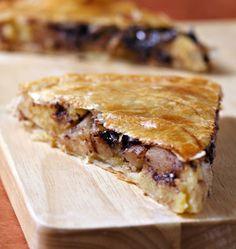 Galette des rois à la frangipane, poires et chocolat - Recettes de cuisine Ôdélices