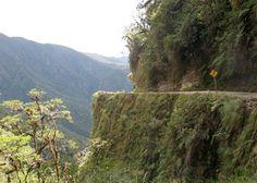 Bolivia! Gevaarlijkste weg van de wereld.