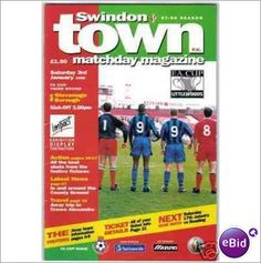 Swindon Town v Stevenage Boro 03/01/1998 FA Cup Football Programme Sale