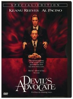 nothing beats Pacino's argument in the devil's monologue in this movie