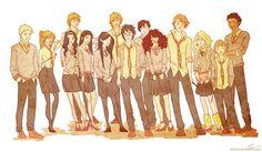 Dumbledore's army by viria13.deviantart.com on @deviantART
