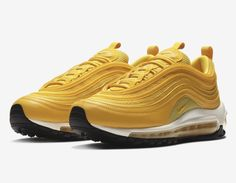 finest selection 138b1 16df9 NIKE AIR MAX 97 MUSTARD YELLOW (WOMEN SIZES) Yellow Sneakers, Puma Sneakers,