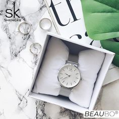 Shop & Buy SK Super Slim Sliver Mesh Stainless Steel Watches Women Top Luxury Casual Clock Ladies Wrist Watch Lady Relogio Feminino Online from Aalamey Popular Watches, Watches For Men, Swiss Army Watches, Beautiful Watches, Stainless Steel Watch, Quartz Watch, Fashion Watches, Mesh, Slim