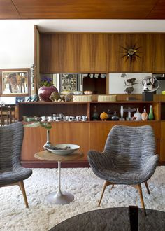 The incredible mid-century WA home of Mark and Christine Baxter and Family, designed by legendary architect Iwan Iwanoff. Photo - Angelita Bonetti, Styling / Production – Anna Flanders for thedesignfiles.net