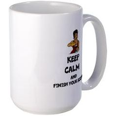 KEEP CALM AND FINISH YOUR SCRIPT! Mugs