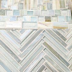 Just like a winter wonderland Beautiful colors in the Tommy Bahama line from @lunadabaytile #tile #glasstile #mosaic #design #color #glass #tiles #deco #homedecor #interiordesign #beautiful #tgif #tileaddiction #winterwonderland #showroom #unique #mosaics #friyay #morning #satx #atx #friday #travistile by travistilesales