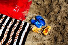 Crocs for the beach ... #crocs
