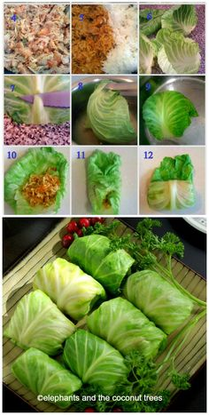 Cabbage roll / Stuffed Cabbage with Turkey #FallFest #Thanksgivingrecipes #Turkey