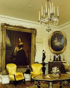 Parlor at Parlange Plantation, New Roads, Louisiana
