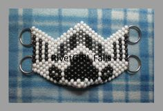 D-ring Stormtrooper inspired Cyber Raver Kandi Mask by RivetGiRL Falls