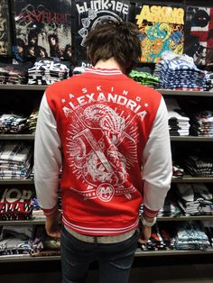 Asking Alexandria varsity jacket in all PULP stores now!  £49.99