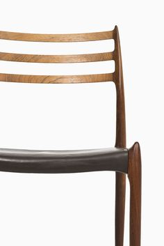 Niels Møller dining chairs model 78 by J.L Møller at Studio Schalling