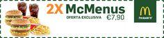 Amazing WooW: Oferta Exclusiva 2 Mc Menus » Macdonalds/Odisseias...