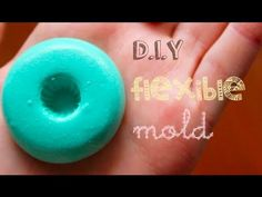 D.I.Y  Flexible Clay Mold/Mold Putty So Easy to make your own Putty AND then make your own molds for food or clay!