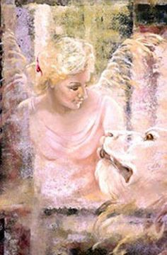 Archangel Ariel-Angel of wild animals-name means lioness of God