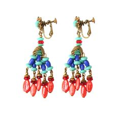 Miriam Haskell - Miriam Haskell Drop Earrings, love these