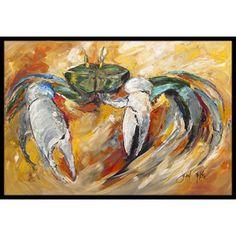 Caroline's Treasures Crab Doormat Rug Size: 2' x 3'