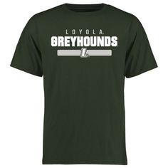 Loyola College Maryland Greyhounds Team Strong T-Shirt - Green - $21.99