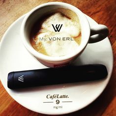 Von Erl Starter Kit with Cafe Late #vonerl #ejuice #eliquid #liquid #dampfen #vaping #vape #vapeon #vapedaily #vapestagram #instavape #instavaperz #vapeart #picoftheday #vapelife #vapelifestyle #vapepics #enjoynature #vapenation #vapefam #vapeforlife #ilovevaping #cloudchaser #handcheck #naturephotography #enjoylife #ecig @von_erl  Art by @julieahhhhh