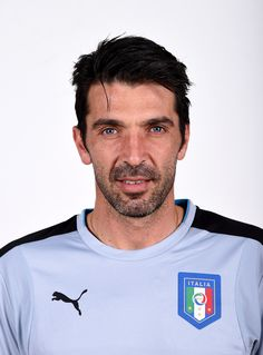 Gigi Buffon during the official Portrait Session, 10.11.2015