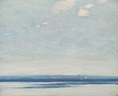 J.E.H. Macdonald - Little Bruges Lake Simcoe 8.5 x 10.375 Oil on board (1921) Tom Thomson, Group Of Seven, Fine Art Auctions, Bruges, Art Of Living, Landscape, Artist, Oil, Painting