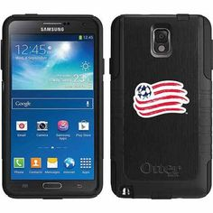 New England Revolution Emblem Design on OtterBox Commuter Series Case for Samsung Galaxy Note 3