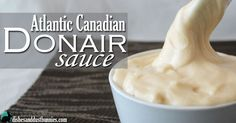 "Maybe you haven't heard of donair sauce before – that's ok – I forgive you! 😉 lol Yesterday I shared with you how to make The Famous Atlantic Canadian ""Halifax Donair"" and so today I give you the awesome recipe for the special sauce that goes with it. 🙂 Donair sauce is a popular deliciously …"